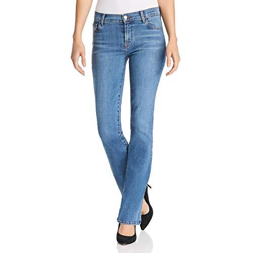 J Brand Womens Sallie Denim Mid-Rise Bootcut Jeans Blue 32