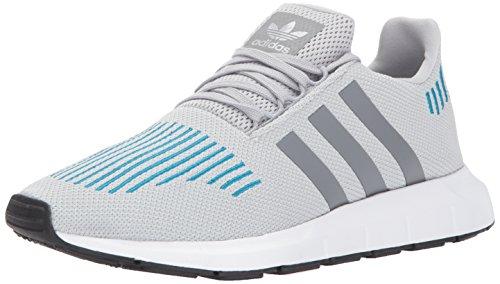 adidas Originals Swift Run, Zapatillas para Correr Hombre, Gris Dos Gris Triple Blanco, 40 EU