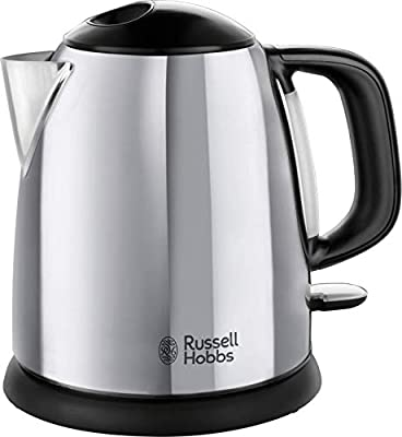 Russell Hobbs 24990 Small Electric Kettle 1 Litre Fast Boil Cordless, Compact, 2400 W by Spectrum Brands UK Ltd