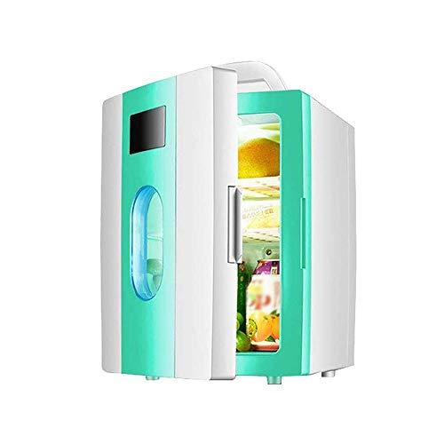 AYDQC Bebida Refrigeradores Coche Electronic Frío y Cálido Frigorífico 10 litros Coche Dual Uso Pequeño Dormitorio Dormitorio Mini Cosméticos Refrigerador Compacto y portátil fengong
