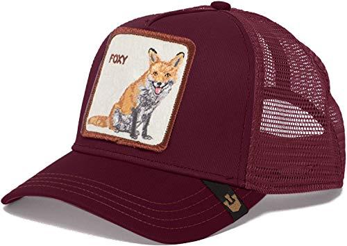 Goorin bros Trucker Cap Foxy/Fuchs Maroon - One-Size
