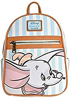 Loungefly x Disney Dumbo Striped Mini Backpack