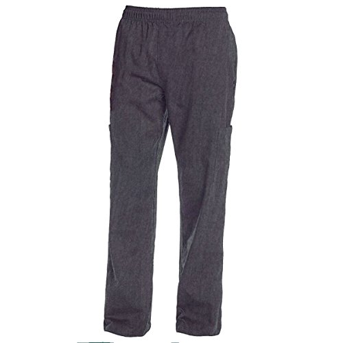 Chef Code Chef Pants, Charcoal Heather, 2X-Large