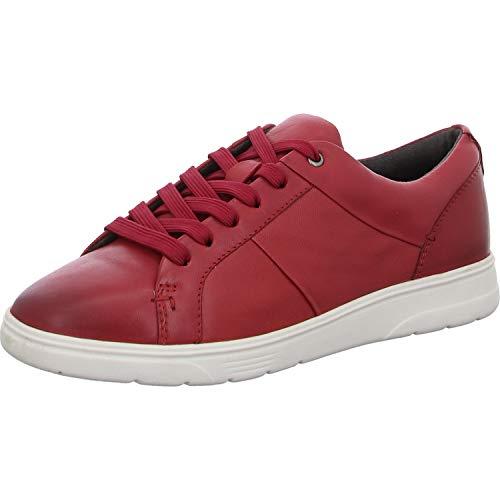 Jana Softline Damen 8-8-23750-25 Sneaker, Red, 38 EU