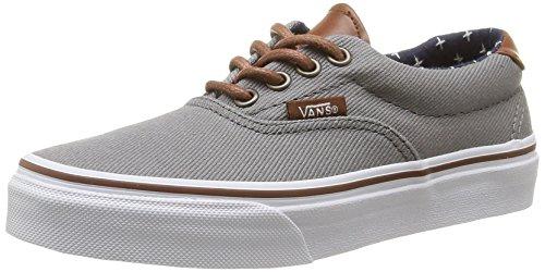 Vans K Era 59 T&L - Zapatillas Bajas Infantil, Color t&l/Frost Gray/Plus, Talla 33