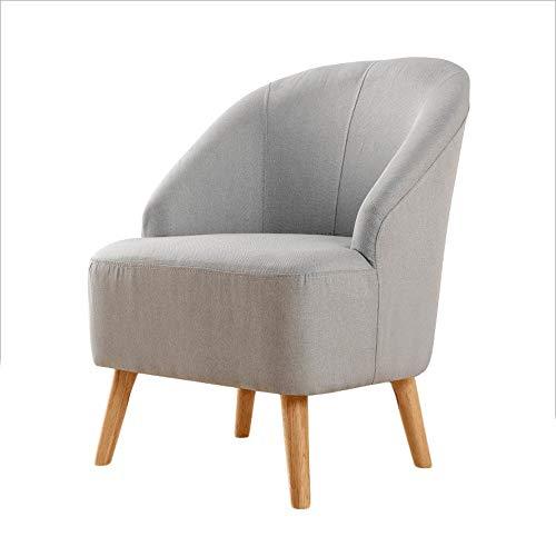 YLCJ Nordic Moderne minimalistische bank Chair Single Living Chair eetkamerstoel + (kleur: puzzel met horloge)