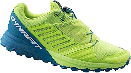 DYNAFIT Alpine Pro Shoes Herren Fluo Yellow/Mykonos Blue Schuhgröße UK 11,5 | EU 46,5 2020 Laufsport Schuhe
