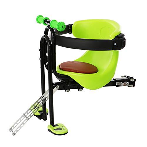 BTSECH Siège de vélo pour Enfant à Fixer sur Le Devant Moderne Size Vert