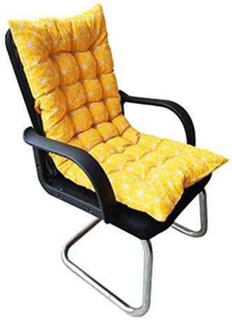 Cojín para tumbona, portátil, grueso, para silla, colchón suave, para el respaldo, para viajes, vacaciones, jardín, veranda, interior y exterior