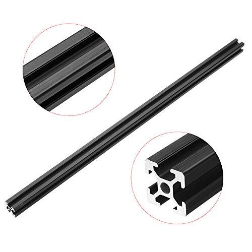 1pc New 700mm Length Black Anodized 2020 T-Slot Aluminum Profiles Extrusion Frame for CNC 3D Printers