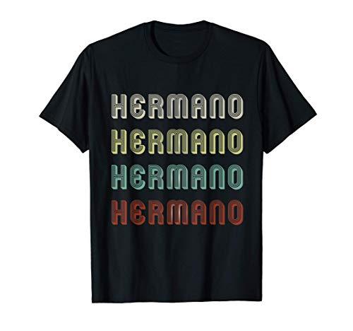 Regalo para Hermano Familia Cofrade Retro Vintage Divertido Camiseta