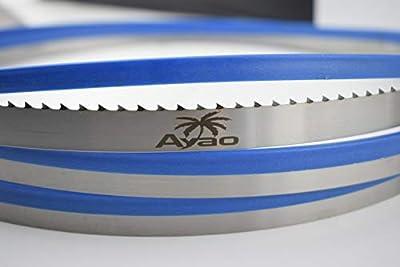 AYAO Hardened Teeth Band Saw Blades 93-1/2 Inch X 1/2 Inch X 4TPI