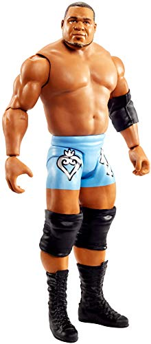 WWE GKT04 - Keith Lee bewegliche WWE-Actionfigur (15 cm) im Wrestling-Look