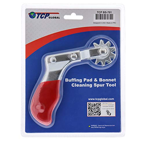 TCP Global Brand Polishing and Buffing Pad Cleaning Spur Tool