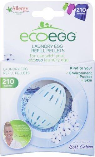 Ecoegg Nachfüllpackung für Waschei 210Waschgänge, Weiche Baumwolle