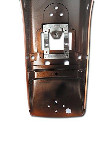 Harley Davidson – verlichting – montagebeugel doss adapter koplamp voor spatborden achter 'circuit board taillight – als je de reflector op je Mo-to van 98-17 bent, en je kunt het niet door de originele beschermingsplaten heen gaan. De Doss koplampadapter maakt het gebruik van alle koplampen zoals Auro-ra of Tombstone brede dos, bij de modellen van 98-17 uitgerust met montagegat. faro'Beschrijving: adapterhouder voor koplampen