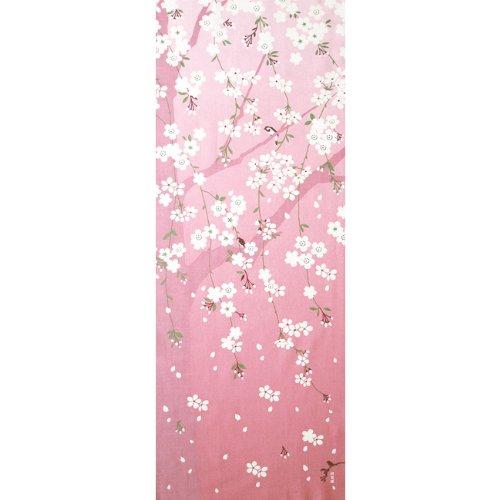 濱文様 絵てぬぐい 桜花らんまん ピンク