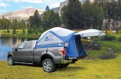 57066 - Napier Sportz 57066 Tent - Blue, Light Gray, And Dark Gray, Polyester Taffeta, Universal