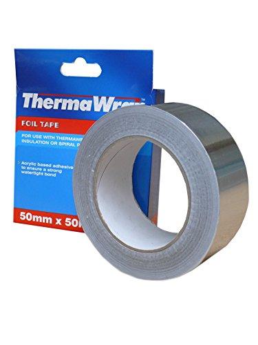 Thermawrap Ruban d'aluminium adhésif pour isolation étanche 50 m x 50 mm x 50 x 30 m