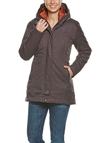 Tatonka Damen Naika W's 3in1 Coat Mantel, Chestnut Brown, 46