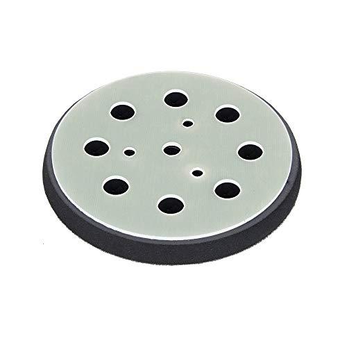 Schleifteller Ø 115mm hart - für KRESS Hexe - Stützteller für Klett Schleifscheiben mit 8-Loch Absaugung - DFS