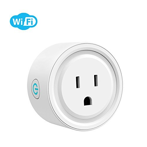 Potensic Smart Plug Wi-Fi Enabled Mini Smart Switch Wireless Outlet Compatible with Alexa &