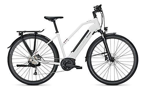 Derby Cycle Raleigh Kent 9 Bosch Elektro Fahrrad 2021 (28' Damen Trapez L/53cm, White Glossy (Damen))