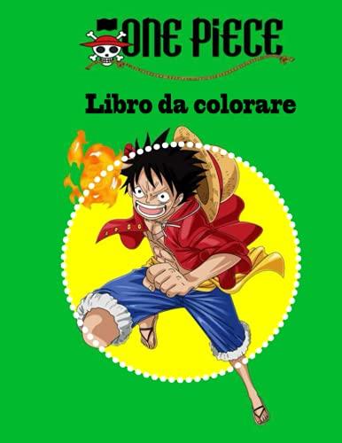 One Piece libro da colorare