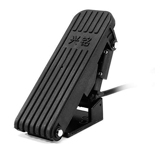 HELEISH Universal ATV Karting Coche eléctrico Carrito de golf Velocidad Pedales Pedales...