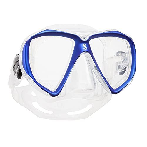 Scubapro Spectra - Máscara de buceo de dos cristales (efecto espejo)