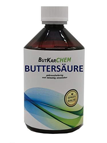 ButKarCHEM 500ml Buttersäure (Variante 500ml-3000ml) (Artnr. OWJJ1) by Karbid 24 (1x500ml) (500ml)