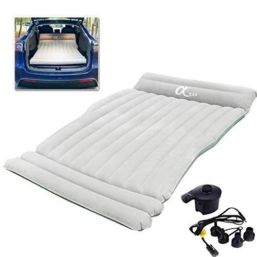 Universal Autobett Luftmatratze Einzel-Doppel Luftbett SUV MPV Dickes Aufblasbares Bett Schlafunterlage Outdoor Aufblasbares Bett