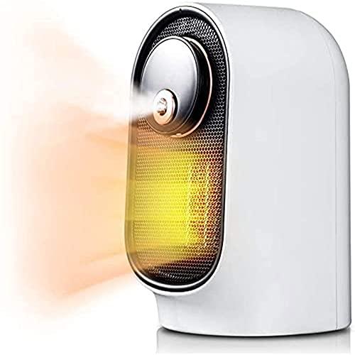 Portátil Calentador de Aire, 2 en 1 Calefactor Ventilador con Humidificador con Protección contra Sobrecalentamiento para el Hogar y la Oficina