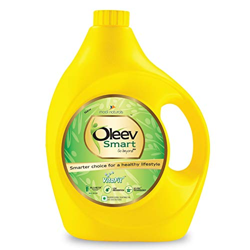 Oleev Smart Oil, Fortified with VIT A, D, E and K, 5L Jar