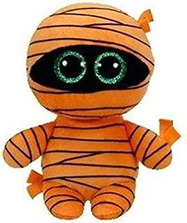 Ty Beanie Babies Boos 37241 Mask The Orange Mummy Halloween Boo