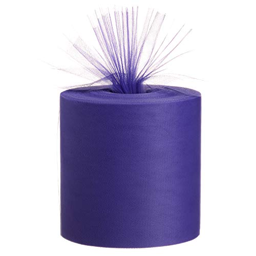 """Tulle Fabric Roll, 6"""" by 200 Yards (600FT) Tulle..."""