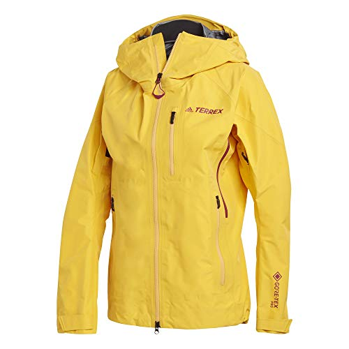 adidas W Techro GTX J Sport Jacket, Mujer, Active Gold, XL