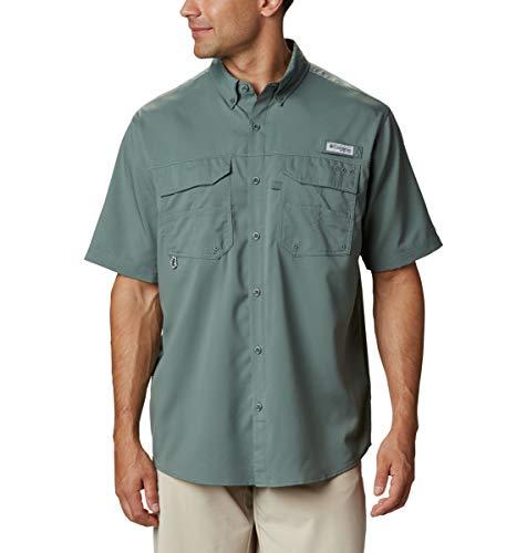 Columbia Sportswear Men's Blood & Guts III Short Sleeve Woven Shirt, Pond, Small