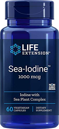 Life Extension, Sea-Iodine ( Meer-Jod ), 1.000 mg, 60 vegane Kapseln