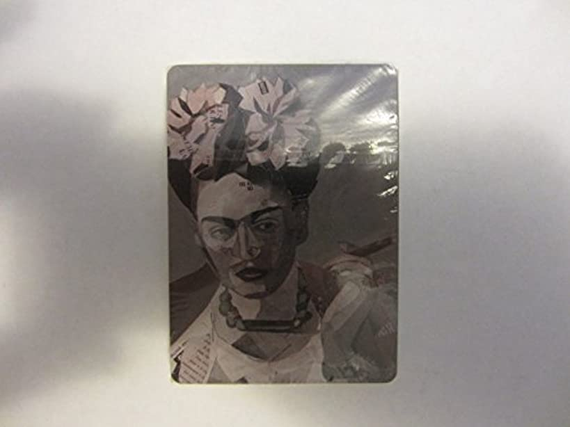 Frida Kahlo Super Premium Tequila Mexican Feminist Icon Artist Smoking Cigar Poker Playing Cards Deck