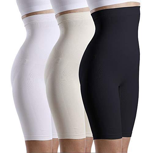 Your+ Dames Shapeweare buik weg short - figuurvormende korts met slipvaste tailleband - vormslip voor taille en bovenbeen