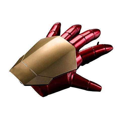FYH Shop Marvel Avengers Wearable 1: 1 Iron Man Guantes para Niños Accesorios De Cosplay Modelo Juguetes Superhéroe Fiesta De Halloween, Decoraciones Alta Colección De Regalos