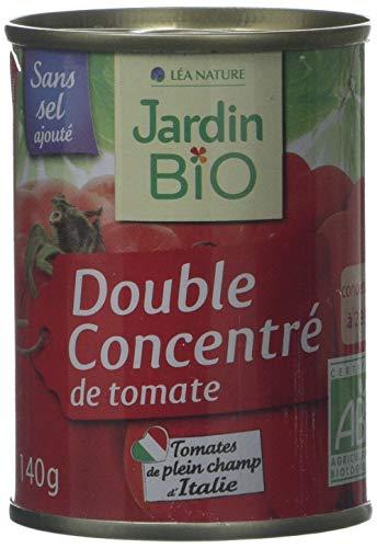Jardin Bio Double Concentré de Tomate boîte 140 g