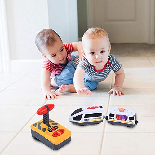 Control Remoto Infantil Tren Eléctrico Material De Aleación De para Niños Regalo De Cumpleaños, Compatible con La Pista De Madera para Thomas IKEA BRIO