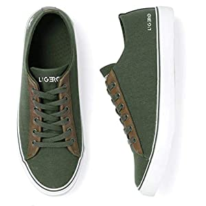 ligero Men's Olive Green Casual Shoes and Sneakers