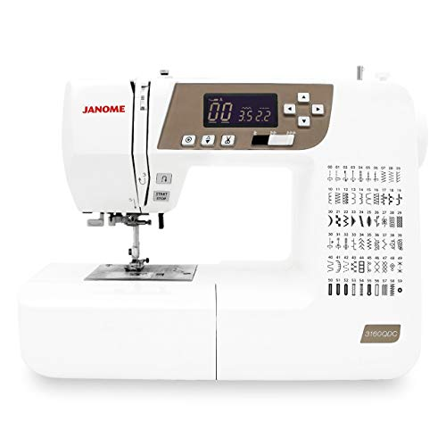 Janome 3160QDC-T Sewing and Quilting Machine with Bonus Quilt Kit!