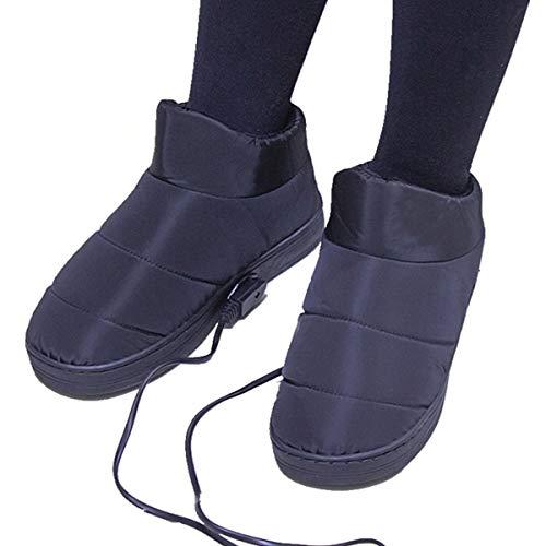 pantofole uomo riscaldabili 1 Paio Di Pantofole Riscaldate Per Riscaldamento Elettrico Per Pantofole Riscaldate Per Linverno