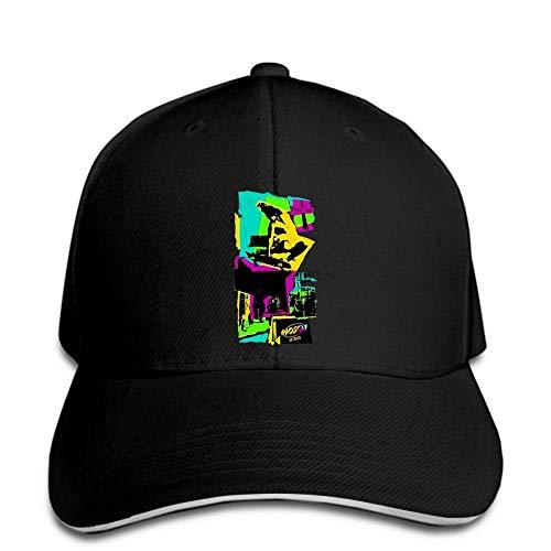 DSFJK Baseballmütze Skateboard Gator Vert Sims Vision Street Hat Schirmmütze