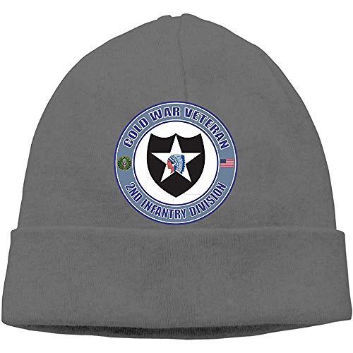 Linupdate-Store Cap Cold War DF2nd Infantry Division Veteran Beanies Cap Skull muts, voor volwassenen