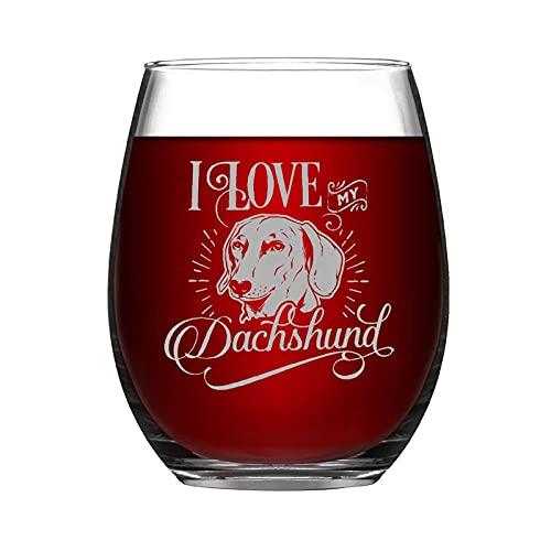 Divertido vaso de vino sin tallo, salchicha para bebidas negras de 325 ml, taza de vino, regalo para amantes del perro, regalo conmemorativo para amiga, vecina, mamá, papá, hijo e hija